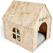 CHONGWFS Pino Al Aire Libre Cat Litter Four Seasons A Prueba De Humedad Pet Dog House