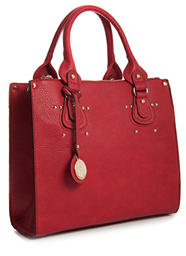 Big Handbag Shop, Borsa a mano donna One Rosso (rosso)