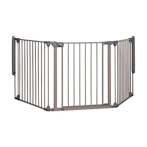 Safety 1st Modular Cancelletto Sicurezza Bambini, Scale, Cani, Camino, Composto da 3 Moduli, per Aperture 40 cm - 214 cm