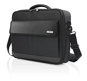 Belkin F8N204 Protective Business Clamshell Bag for Laptops, Macbooks and Chromebooks up to 15.6 inch - Black