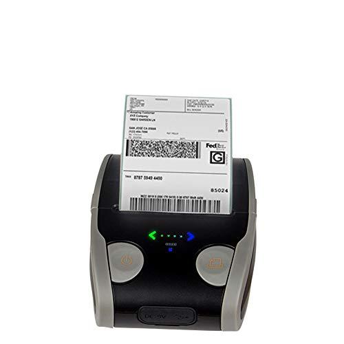 Mini Portátil Etiqueta De Recibo De Impresora Térmica USB Bluetooth, Impresora De Recibo Personal Compatible Con Android E IOS, Sistema De Windows Y ESC/POS Print Conjunto De Comandos,Blackgray