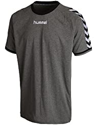 Hummel Stay authentic - Camiseta, color gris, talla L