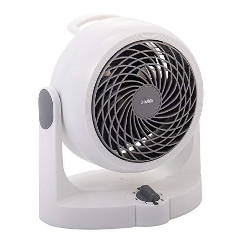 Iris Woozoo by Ohyama PCF-HD15N leiser Tischventilator, 34 W, weiß, 21,8 x 21,8 x 25,3 cm