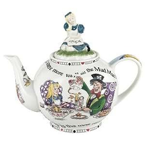 Alice in Wonderland Large Tea Pot by Paul Cardew