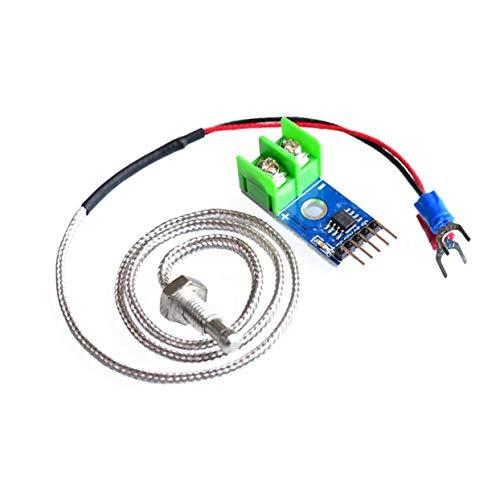 Tree-on-Life MAX6675 E-Type Termocoppia Sensore di Temperatura Termometro Modulo Temp Kit Kit Sonda per Arduino 0 ℃ -1024 ℃ Elettronica Fai da Te