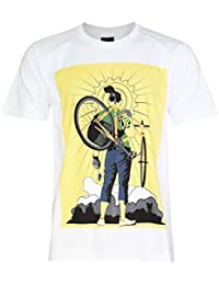 PALLAS Unisex's Cycling Bike Cool Cotton T-Shirt