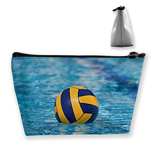 Water Polo Sport Multi-functional Trapezoidal Storage Bag Toiletry Bag Zipper Receive Bag -