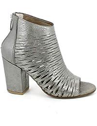 86e1281af5 PROGETTO GLAM Sandali Donna z106 Nero · EUR 94,00 · Progetto - Sandalo  laserato Spuntato Laminato