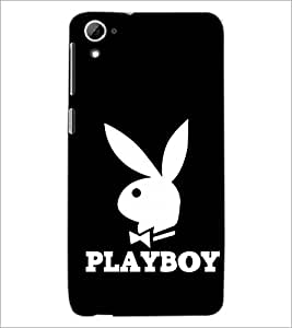 PrintDhaba Playboy D-1433 Back Case Cover for HTC DESIRE 826 (Multi-Coloured)