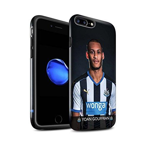 Officiel Newcastle United FC Coque / Brillant Robuste Antichoc Etui pour Apple iPhone 7 Plus / Rivière Design / NUFC Joueur Football 15/16 Collection Gouffran