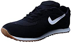 Port Unisex Black Running Shoes - 7Uk