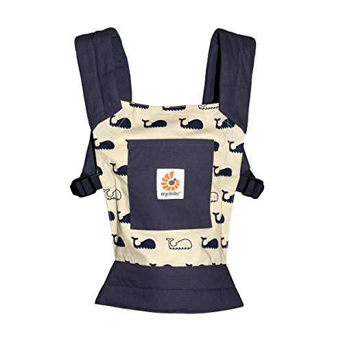Price comparison product image ERGObaby Doll's Carrier Kids Toy,  Baby Doll Toy,  100% Cotton Doll Carry Bag