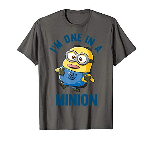 Despicable Me I'm One In A Minion Doofy Sketch T-Shirt (In Shirt Minion One A)