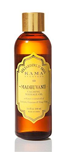 Kama Ayurveda Madhuvanti Calming Massage Oil with Pure Essential Oils, 100ml