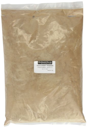 JustIngredients Yuccawurzel Pulver, Yucca Root Powder, 1er Pack (1 x 1 kg) (Pulver Yucca)