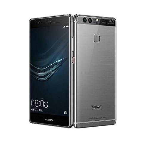 Huawei P9plus smartphone de 64Go, Marque Tim, Quartz Gris (Grey)