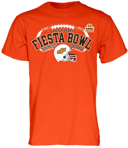 Blue 84 NCAA Unisex-Erwachsene Oklahoma State Cowboys 2012Fiesta Schüssel Mühle gefärbt Tee, Unisex, Orange -
