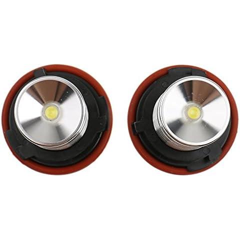 2x 6000k Blanco 5W LED Luz Ojos de Ángel Angel Eyes para BMW E39 E53 E60 E61 Coche