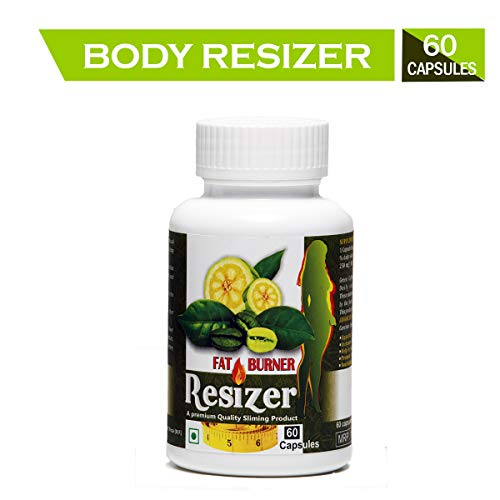Pharma Science Resizer Garcinia Cambogia Supplement For Men & Women Supports Weight Loss, Fat Reduction Naturally- 60 Veg Capsules