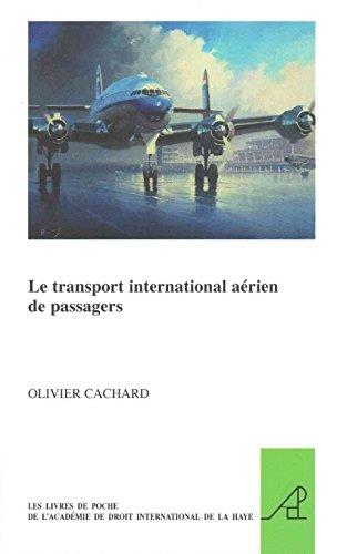 Le transport international arien de passagers