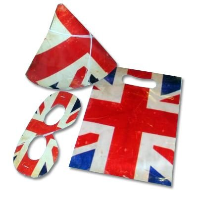 Party Packung Union Jack - Party 4 Pack