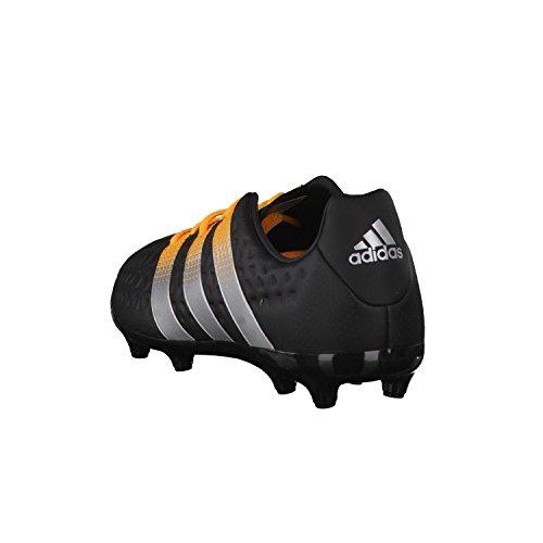 Adidas Ace 16,3FG/AG J Scarpe da calcio, Unisex bambino Cblack/Silvmt/Sogold