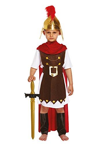 ostüm Römischer Soldat mit Stoffhut, Größe L, 10-12 Jahre ()