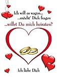 Emotions & Surprises XXL Poster DIN A 1 Heiratsantrag/Verlobung Hochzeit Bild gedruckt auf Kunsstoff/Wabenplatte