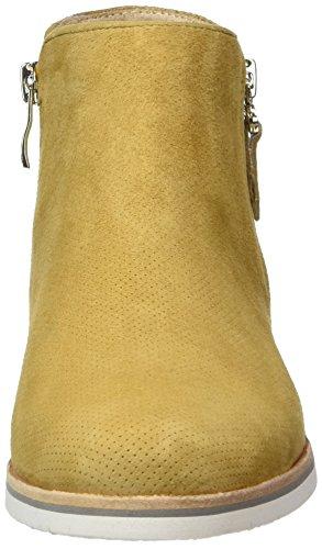 Caprice25303 - Stivali classici imbottiti a gamba corta Donna Giallo (Saffron Comb)