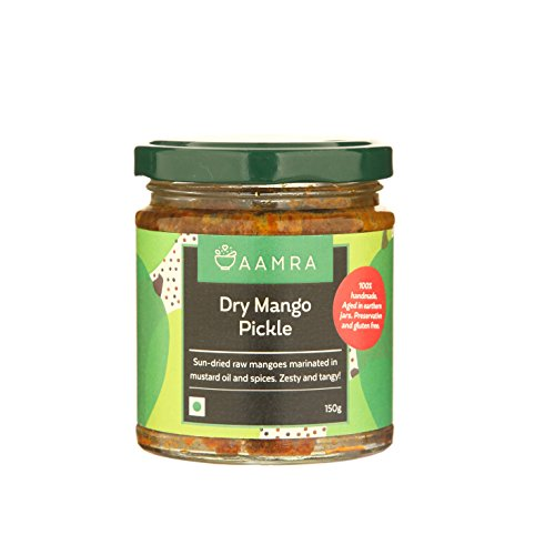 Aamra Traditional Homemade Dry Mango Pickle 150gm