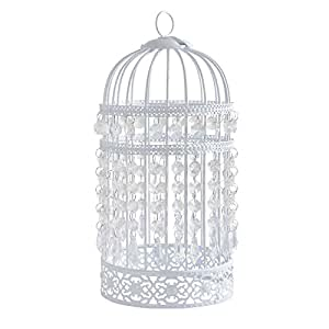 Antique Style Birdcage Bird Cage Ceiling Pendant Light Shade Fitting Decoration