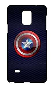 Pinklips Shopping Cover for Samsung Galaxy Note 4 Hard Case Back Cover - SGN4PLBLKSUPAMZ15