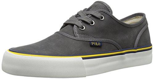 Polo Ralph Lauren Morray Nubuck Fashion Sneaker Dark Grey