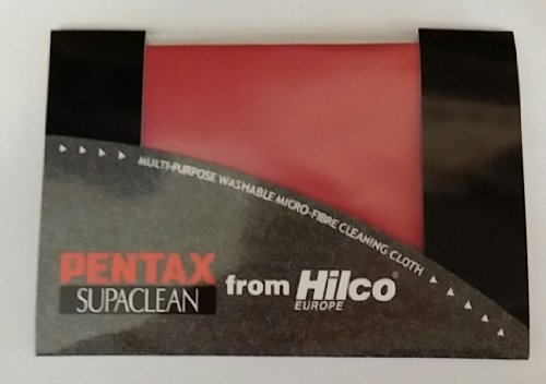 Preisvergleich Produktbild Pentax Supaclean micro fibre cleaning cloth from Hilco - Red by Pentax