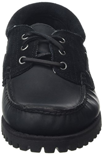 Timberland Classic 3 Eye Lug, Mocassins Homme Noir (Black)