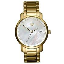 MVMT Watches Damen Uhr All Gold poliertes Edelstahl Armband MF01-AG