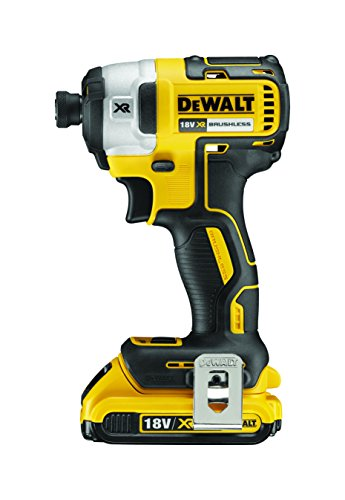 DeWalt Visseuse à chocs Brushless + 2 batteries 18V 2Ah Li-ion + coffret Tstak DCF887D2-QW.