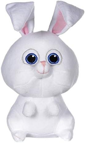 Comme des Bêtes (The Secret Secret Secret Life of Pets) - Pompon, lapin blanc 21cm - Calidad Super Soft B01HQ29FOQ a431a6