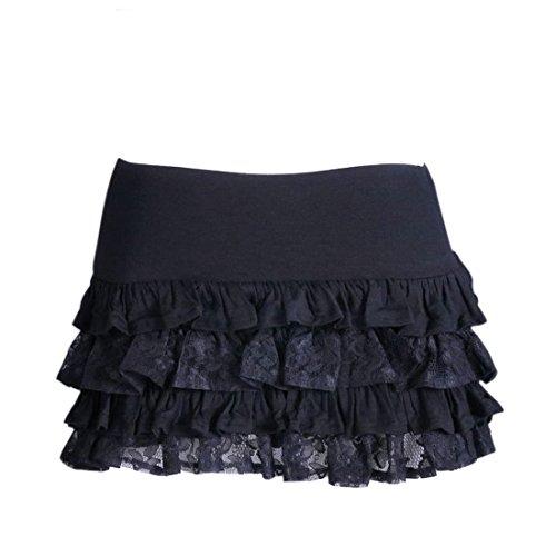 Hi Quality Gothic Multi-Layered Ra Ra Ruffle Skirt.
