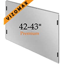 42-43 pulgadas Vizomax protector de pantalla de la televisor LCD LED Plasma HDTV. TV Screen Protector Cover Guard Shield