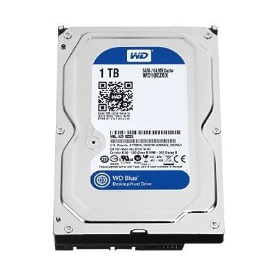 Western Digital WD10EZEX Caviar BLUE HardDisk SATA 1 TB, 64MB Cache, versione OEM per integratori in promozione da Polaris Audio Hi Fi