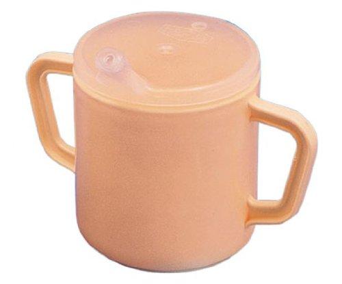 Trinkbecher m. 2 Henkeln elfenbein, Ess- und Trinkhilfen