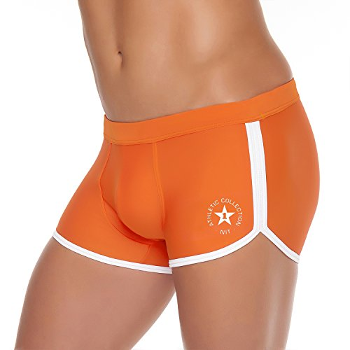 Shorty de bain Push-up homme Karim Orange