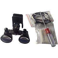 Hot Dental - Lupa para prismáticos quirúrgicos (2,5 aumentos)