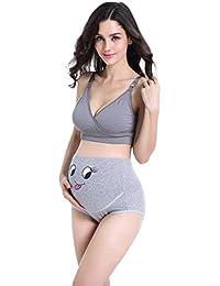 ca34cf5eb20b0 HDCOOL Nursing Bra Gathered Anti-Sagging No Steel Ring Pregnant Women  Underwear Bra Pregnancy Seamless