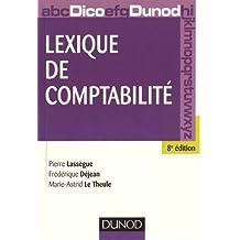 Lexique de comptabilité - 8e édition