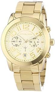 Michael Kors Damen-Armbanduhr Mercer Chronograph Quarz Edelstahl beschichtet MK5726