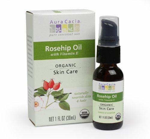 Aura Cacia Skin Care Organic Rosehip Oil, 1 Fluid Ounce by Aura Cacia