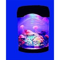 4L acrilico LED Mini Medusa luce dell'acquario di Desktop Piccolo