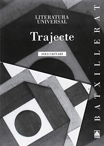 Solucionari. Trajecte - Literatura universal - 9788430753338